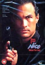 ACTION THRILLER CERT 18 = Nico - Above The Law = STEVEN SEAGAL = VGC CERT 18
