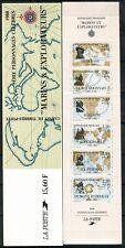 FRANCE 1988 CARNET COMMÉMORATIFS BC2523 Neuf ★★ luxe / MNH non plié