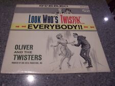 """Oliver and the Twisters """"Look Who's Twistin' Everybody"""" COLPIX LP #SCP-423"""