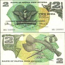 Papoea-Guinee Pick-Aantal: 1a UNC 1975 2 Kina Vogels