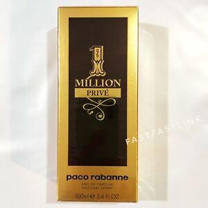 PACO RABANNE ONE MILLION PRIVE 100ml EDP Spray Men's Perfume...NEW + GENUINE