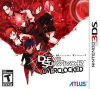 Shin Megami Tensei: Devil Survivor Overclocked - Nintendo 3DS [2DS Persona] NEW