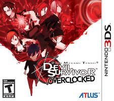 Shin Megami Tensei: Devil Survivor Overclocked [Nintendo 3DS, Atlus JRPG Remake]