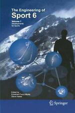 Engineering of Sport 6: Developments for Sports Vol. 1 (2006, Hardcover)