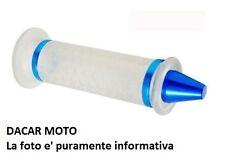 184160310 RMS Par de perillas transparente pvc con terminal azul
