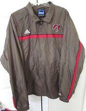 NFL Tampa Bay Buccaneers Quarter Zip Jacket Large by Adidas EUC