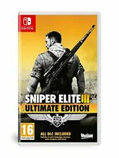Sniper Elite 3 Ultimate Edition Nintendo Switch - BRAND NEW SEALED
