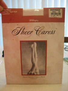NOS WORTHINGTON Lace Top Thigh High Stockings Style 8004 - Size AVG White