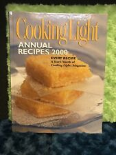 NEW Cooking Light Annual Recipes 2000 Cookbook Hardcover Oxmoor House —-Offers!