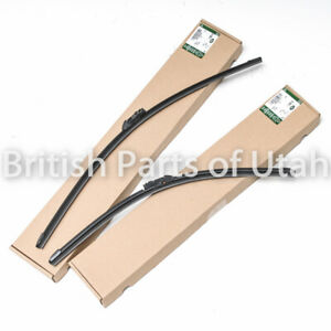 Range Rover & SPORT Discovery 5 Wiper Blades Windshield Front Genuine OEM 2017~