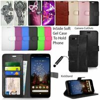 For Google Pixel 3A, Pixel 3a XL Phone Case Wallet Leather Case Flip Cover Book