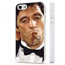 Scarface Tony Montana cigarro Al Pacino Funda de teléfono blanco se adapta iPhone