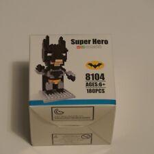 Hsanhe Super Hero Mini Series batman 8104 Buildable Micro Brick Figure