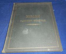 Noten - Hector Berlioz Partitur-Beispiele Instrumentationslehre