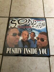 """Sons Of Funk Pushin' Inside You SEALED 12"""" No Limit 1997 Master P How Ya Do Dat"""