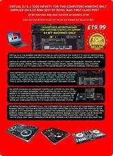 New!!! Virtual DJ Pro Infinity 8.4  Infinity For Windows On A CD Rom £19.99!!