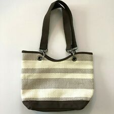 31 Thirty One Small Striped NWOT Tote Bag Multi Color