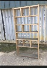 The Alternative! Industrial Up-Cycled Pigeon Hole Shelving Unit