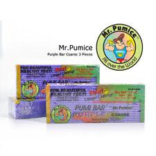 3 Pieces Mr. Pumice Purple Coarse Pumi Bar Stone