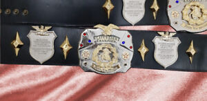 Johnny Valentine Antonio Inoki commemorative Champion Belt Heavyweight Wrestling