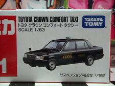 TOMICA #51 TOYOTA CROWN COMFORT TAXI 1/63 SCALE NEW IN BOX