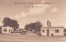 Las Vegas, NV - Boulder Auto Court, US 91 and 466
