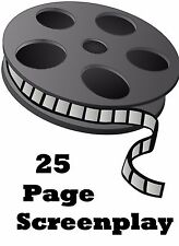 Screenplay Writing Service  - Up to 25 Pages - Get FULL Rights and Resell
