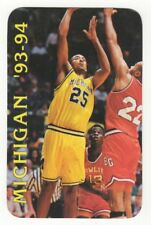 1993-94 Michigan Wolverines Basketball Schedule