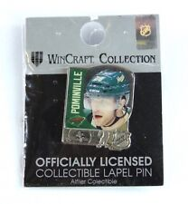 Official MN Wild NHL Hockey Lapel Pin Jason Pominville Minnesota