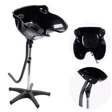 Portable Adjustable Shampoo Bowl Basin Sink Hair Salon Treatment Stations Black