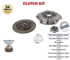 FOR TOYOTA CARINA + E COROLLA 2.0D DIESEL 1990-> NEW CLUTCH KIT PLATE BEARING