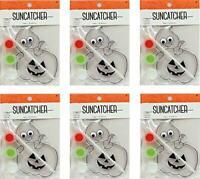 Suncatcher Craft Kits For Kids- 6 Complete Kits- Halloween Pumpkin-For Parties!