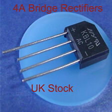 AC - DC 4 Pin SIL In-Line Bridge Rectifier 4 Amp 200v