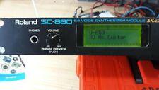 SC 880 Roland Expander MIDI CON MANUALE COMPLETO IN ITALIANO
