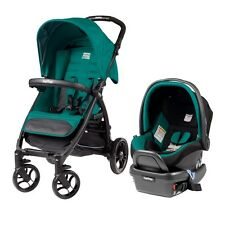 Peg Perego Booklet Travel System Aquamarine, Stroller + Viaggio 4/35 Car Seat!!