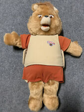 Vintage 1985 Teddy Ruxpin Worlds of Wonder Talking Bear Won't Play See Desc
