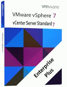 Vmware 7 Esxi Vsphere Enterprise Plus License 3 Key Lifetime + vCenter  standard