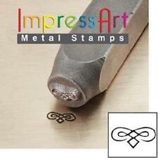 ImpressArt Flourish C 6 mm Metal Stamping Design Punch Tool