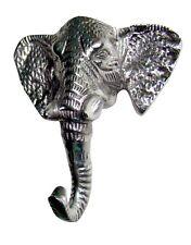 Metal Elephant Trunk Coat Figurine Hooks statue fx