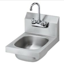 Krowne 13 in. Wall Mounted Hand Sink With Faucet Model HS-9 New In Orginal Box