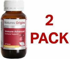 Natures Origins Immune Advanced 60 Tablets - 2 Pack