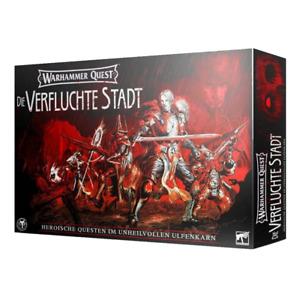 Warhammer Quest: Die Verfluchte Stadt (Cursed City) Deutsch Neu & OVP