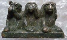 Three Wise Monkeys BRONZE