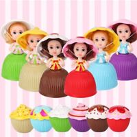 UK Mini Cupcake Surprise Princess Doll Scented Birthday Gifts For Kids Girls Toy
