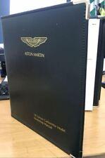 Aston Martin AMV8 Workshop Manual