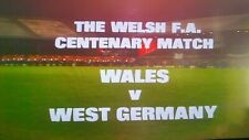 Wales 0-2 West Germany 06-10-1976 f match, Beckenbauer, Rummenigge, Flohe on DVD