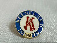 Vintage 1979 Keeneland Club Member Lapel Pin Horse Racing Breeders Cup #240 Rare