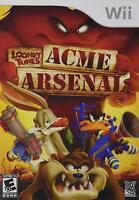 Nintendo Wii LOONEY TUNES: Acme Aresenal  NEW SEALED