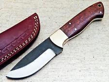 Handmade HIGH Carbon Real File Steel Fixed Blade Skinning Blade Knife - TM-1041