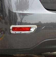 ABS Chrome Rear Fog Light Lamp Cover Trim For Nissan Sentra 2013 2014 2015